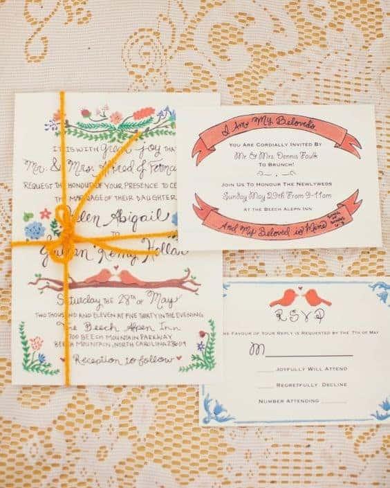 Contoh Kad Kahwin Yang Menarik Untuk Jemputan Hari Istimewa Nikahsatu